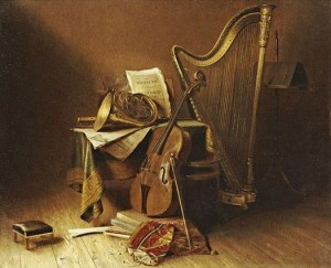 """Still Life with Musical Instruments."""